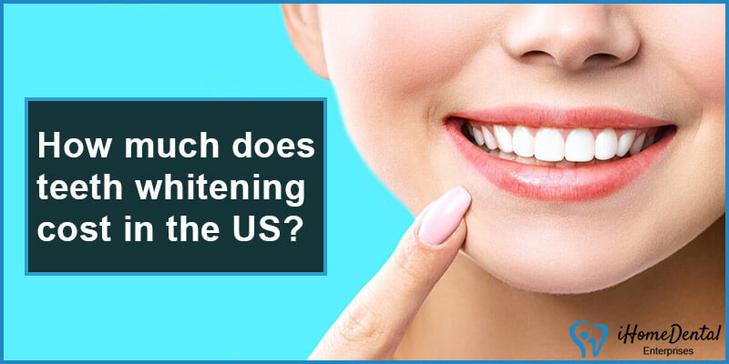 teeth whitening cost in the us