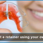 how to get a retainer using your own molds